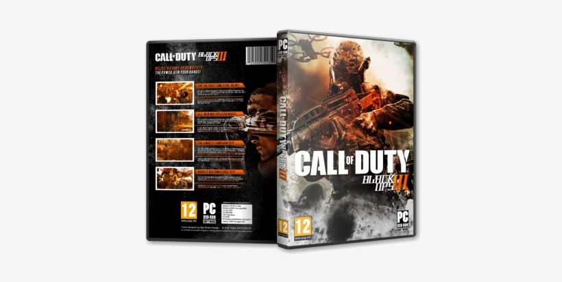 Capa Call Of Duty Black Ops 3 Pc - Call Of Duty Black Ops 2 Game Art 16x12 Print Poster, transparent png #1969889