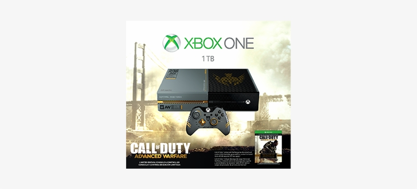 Call Of Duty Advanced Warfare Limited Edition Xbox - -\brand New/- Xbox One Limited Edition Call, transparent png #1971096