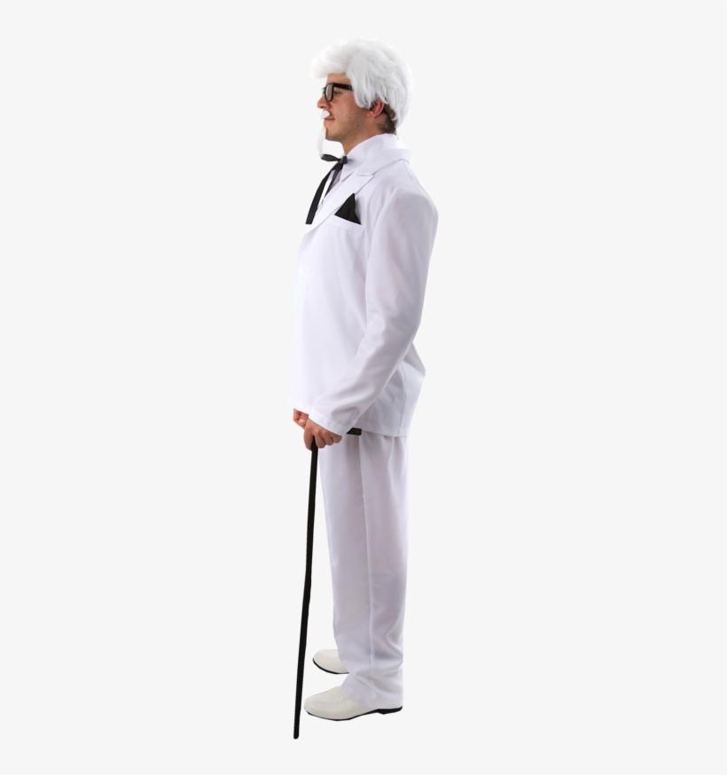 Colonel Sanders Suit - Angels Costumes The Colonel Adult Costume, transparent png #1971290