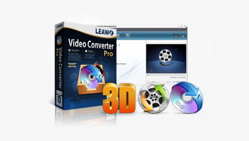 Video Converter Pro - Leawo Blu-ray Copy - Shrink Or 1:1 Copy Any Blu-ray, transparent png #1973250