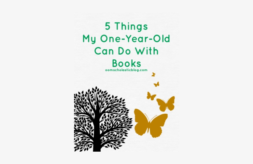 5 Things My 1 Year Old Can Do With Books - Black And White Tree Canvas Print - Small, transparent png #1973826