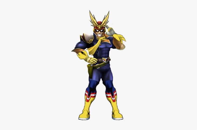 All 28 Comments - Captain Falcon All Might, transparent png #1973964