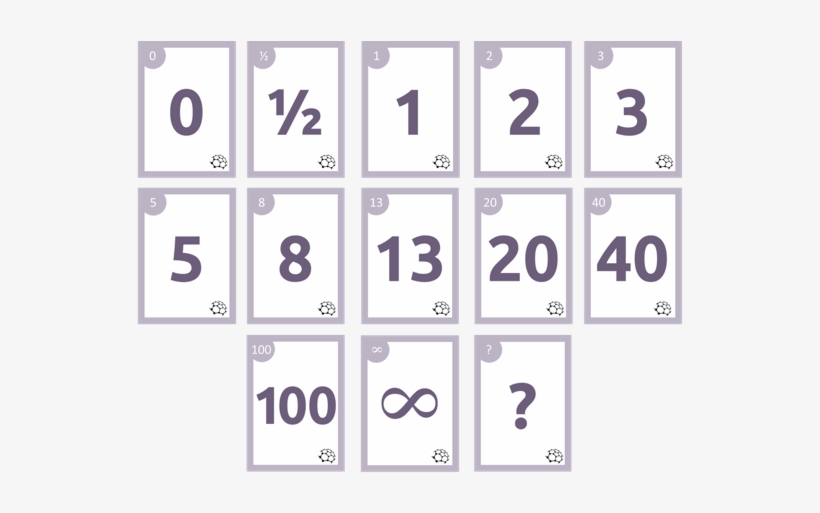 Configure Own Card Sequence Planning Poker 1 2 3 Free Transparent Png Download Pngkey