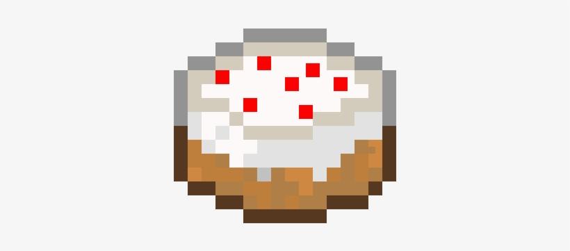 Minecraft Cake Png Minecraft Cake Pixel Art Free Transparent