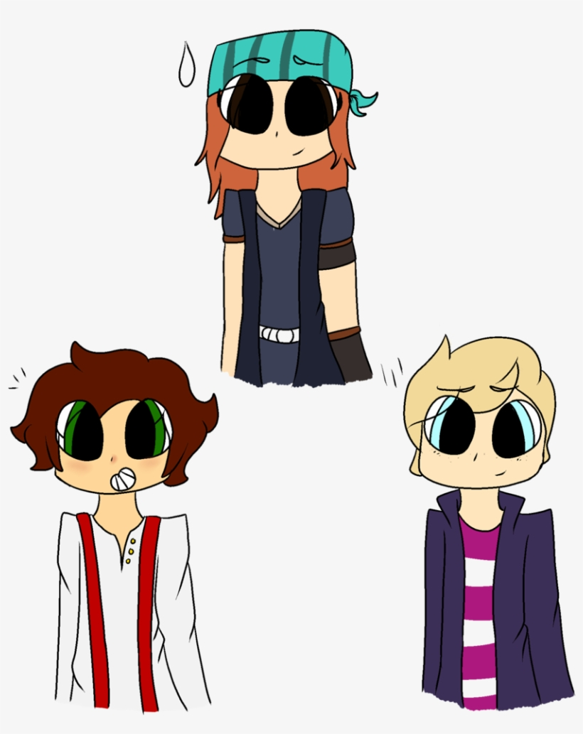 Popularmmos Drawing Minecraft Story Mode Minecraft Story Mode Anime Free Transparent Png Download Pngkey