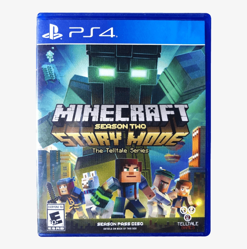 Minecraft Story Mode Season 2 Ps4 Free Transparent Png Download