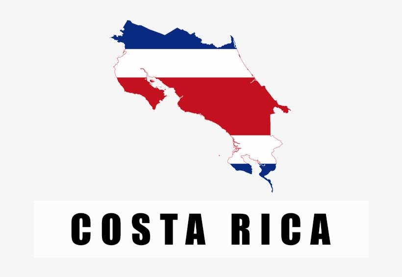 Costa Rica Flag - Bandera De Costa Rica Png, transparent png #1977567
