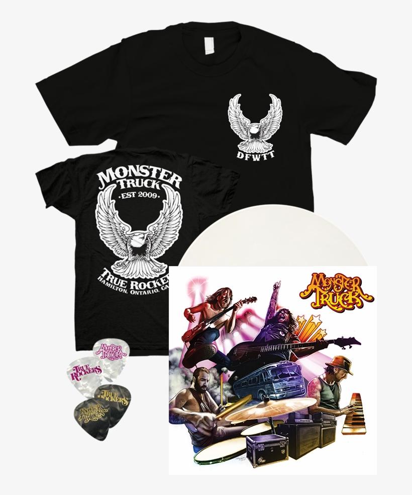 True Rockers T-shirt & Picks - Monster Truck True Rockers Songs, transparent png #1977762
