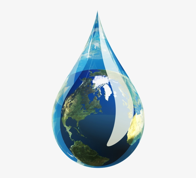 Sustainability - Water Droplet, transparent png #1985138