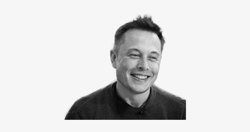 Elon Musk Smiling - Elon Musk Clip Art, transparent png #1986799
