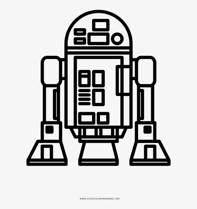 Dibujo De R2d2 Para Colorear Ultra Coloring Pages R2d2