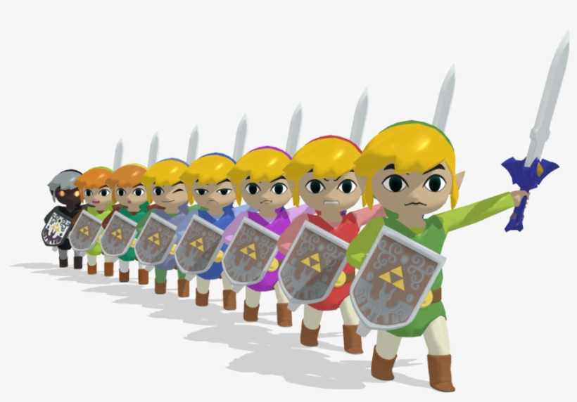 Toon Link 3d By Akirunyang On Deviantart - Super Smash Bros. For Nintendo 3ds And Wii U, transparent png #1987955