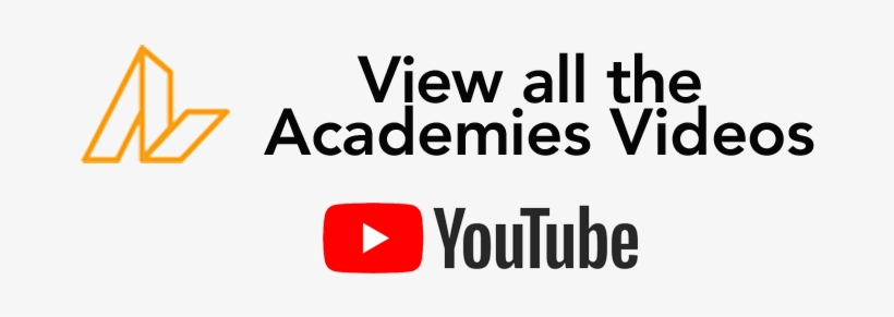 "Youtube Logo With Text ""see All Our Academies - Youtube Logo Black, transparent png #1990077"