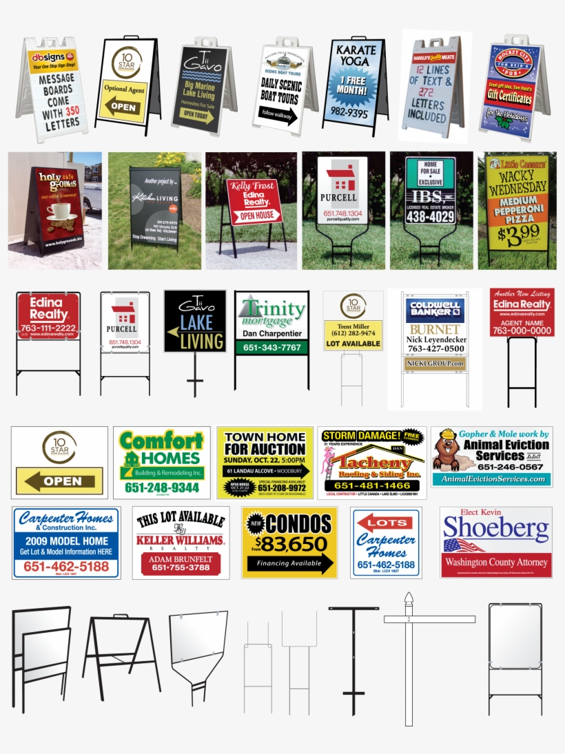 Request A Quote For Real Estate Signs Sign Template Transpa Png