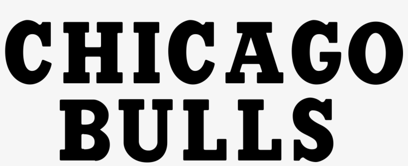 Chicago Bulls Logo Font Chicago Bulls White Background Free