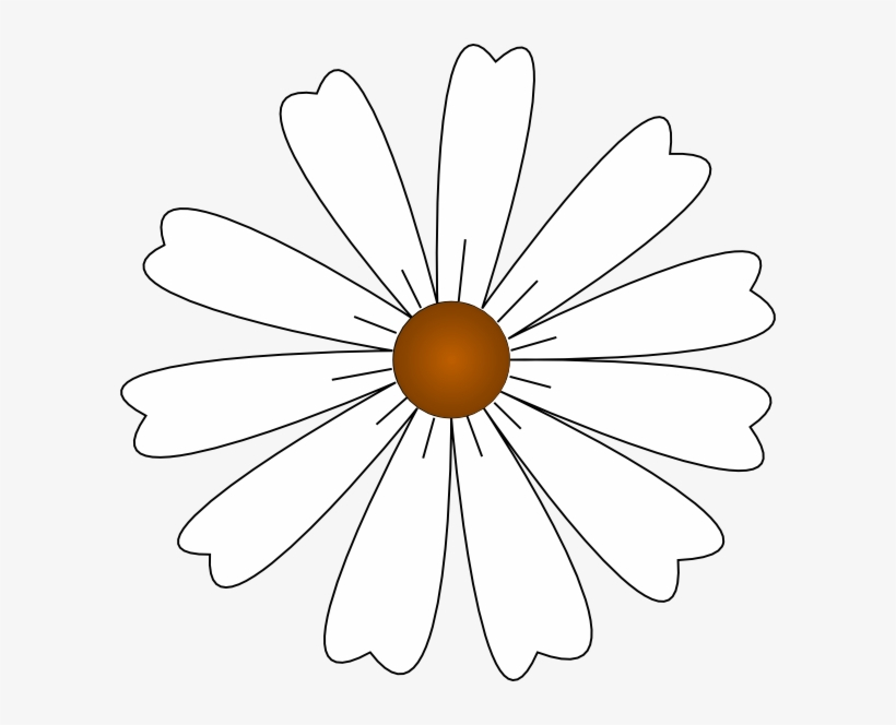 How To Set Use White Daisy Svg Vector - Free Transparent PNG