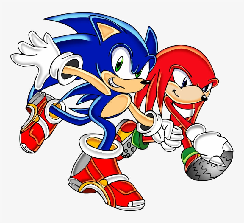 Sonic And Knuckles Sonic And Knuckles Png Free Transparent Png Download Pngkey