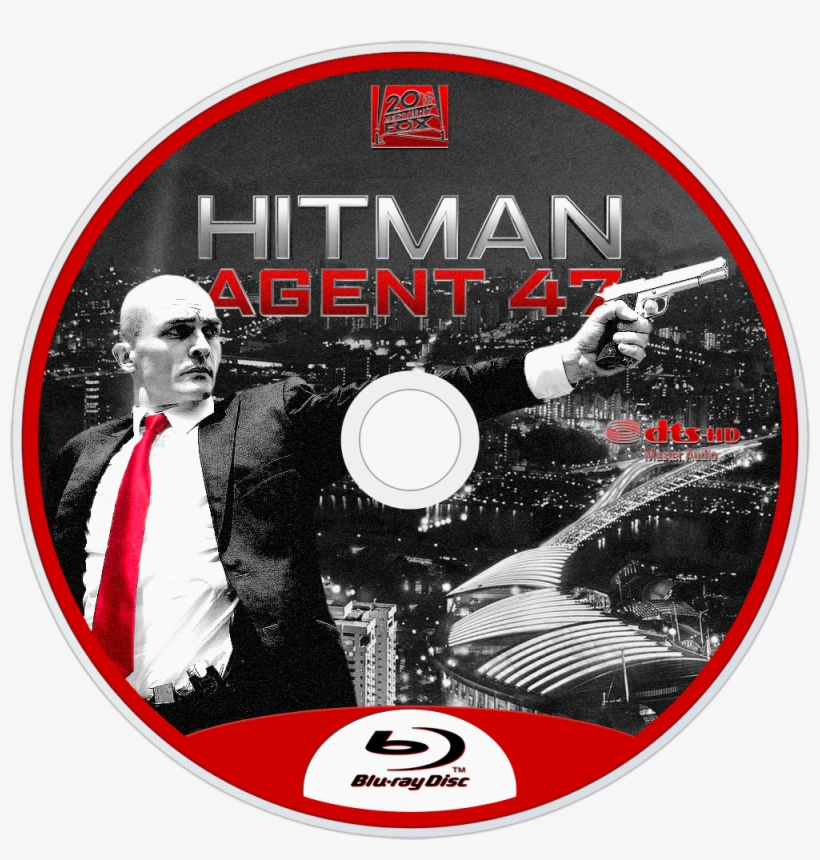 Agent 47 Bluray Disc Image - Blu-ray Disc, transparent png #1996838