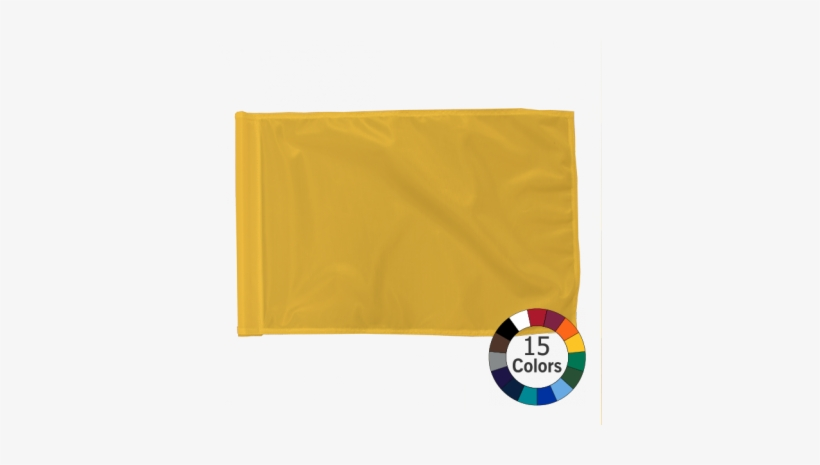 Solid Color Golf Flag - 10 X 10 Canopy Tent With Logos, transparent png #1998449