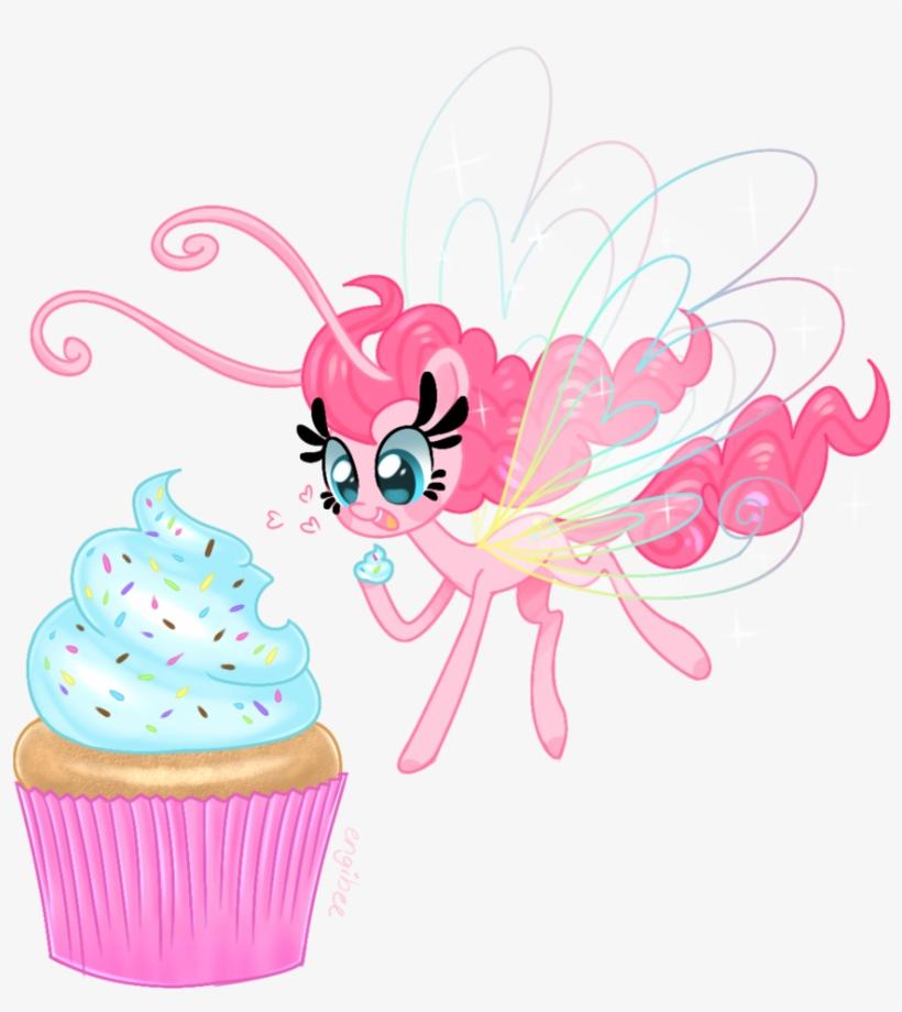 Kaikururu, Breezie, Breeziefied, Cupcake, Cute, Diapinkes, - My Little Pony: Friendship Is Magic, transparent png #1999421