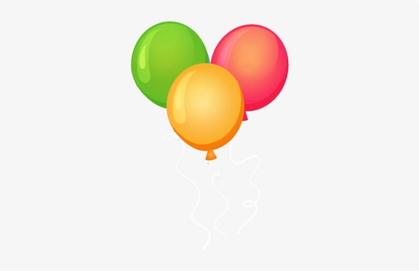 Happy Birthday Png Balloon Border - Balloon, transparent png #20033