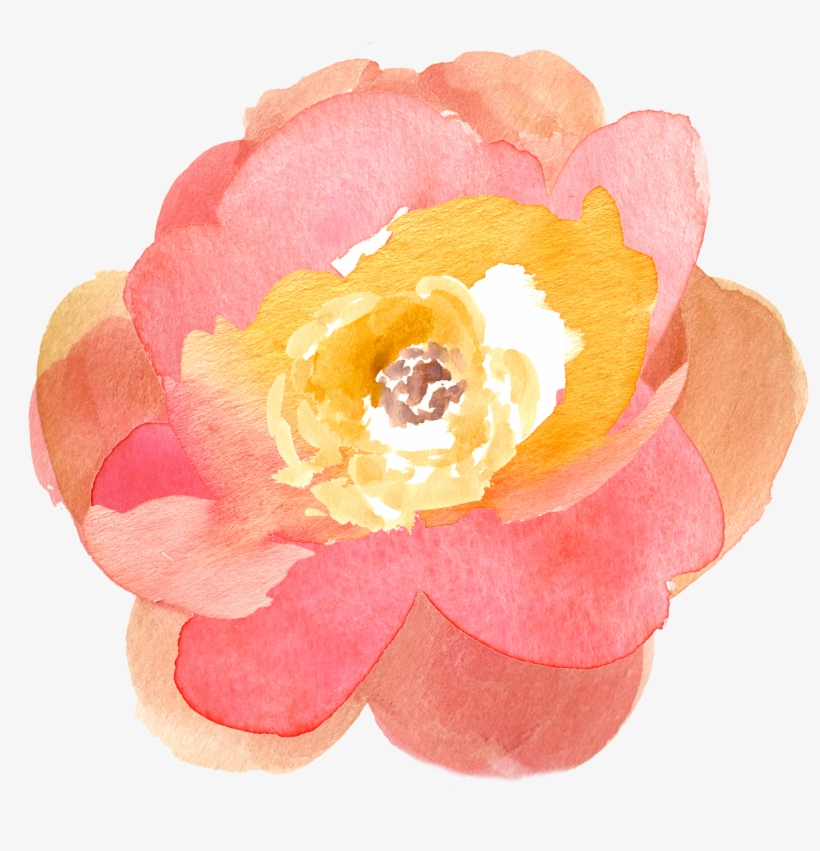 Watercolor Clipart Transparent - Flowers Clip Art Png Watercolour, transparent png #20074