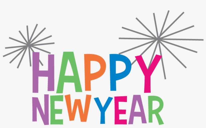 Happy New Year Clipart Png Images - Happy New Year Png Animation, transparent png #20189