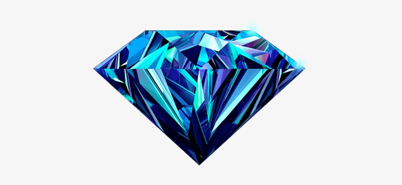 Blue Diamond Png High-quality Image - Happy Birthday Wishes In Diamond, transparent png #20672