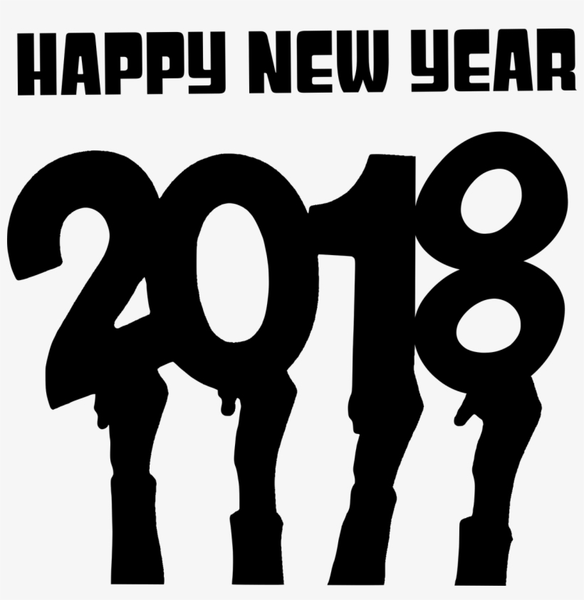 Tags - Png Happy New Year 2018, transparent png #21010