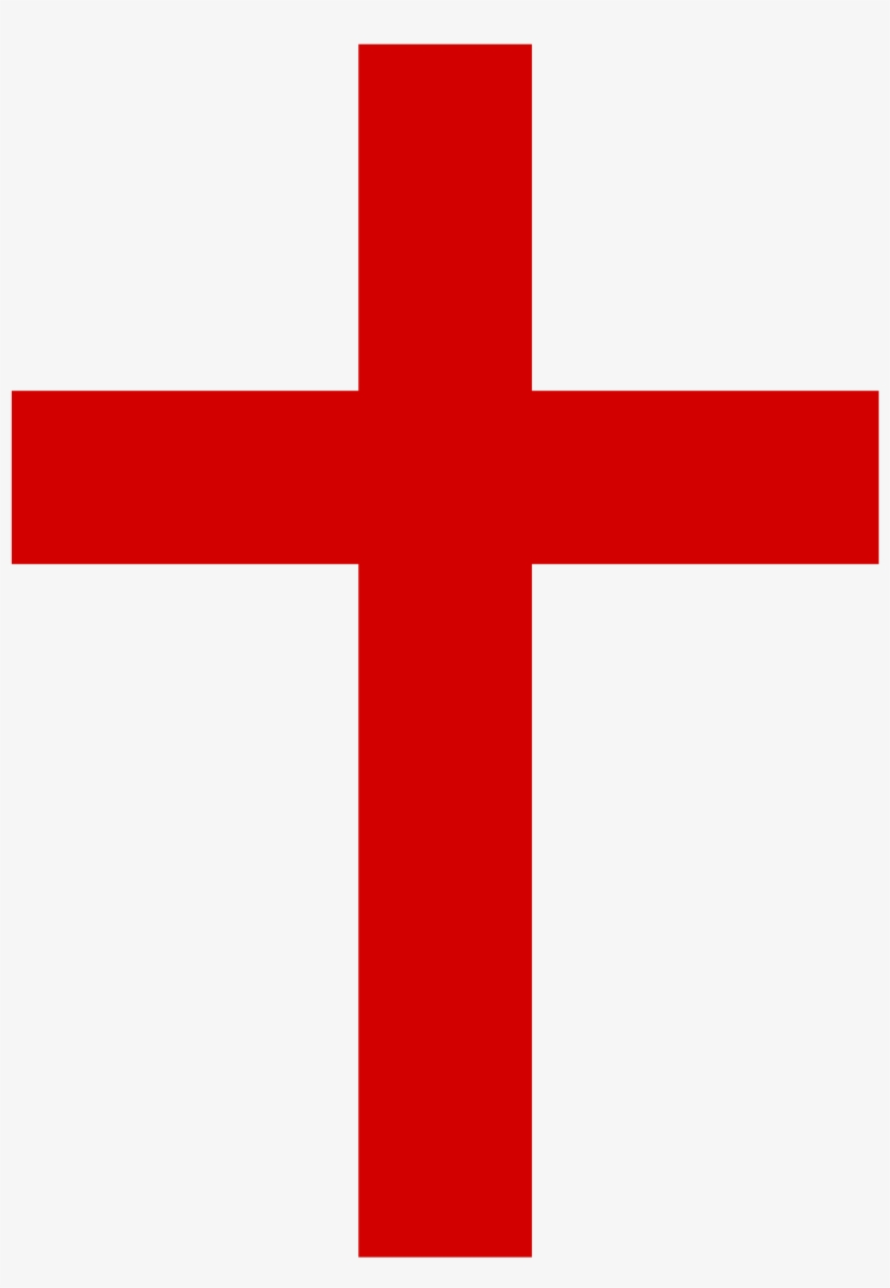 Christian Cross Png Clipart - Red Christian Cross, transparent png #21095