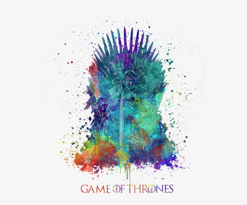 Click And Drag To Re-position The Image, If Desired - Game Of The Thrones Painting Throne, transparent png #21158
