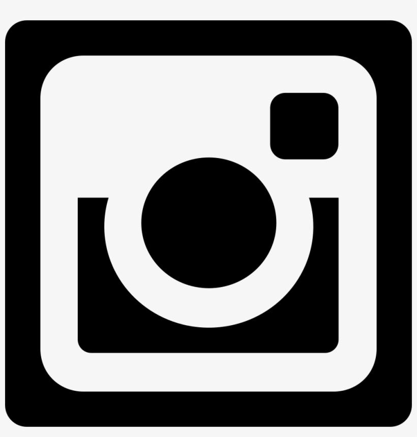 Instagram Social Network Logo Of Photo Camera Svg Png - Logo Instagram Blanco Vector, transparent png #21590