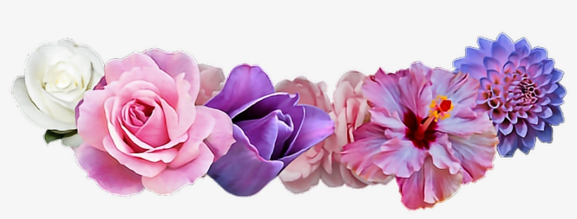#freetoedit#ftestickers #flowers #flowercrown#remixit - Flower Crown Png, transparent png #21836