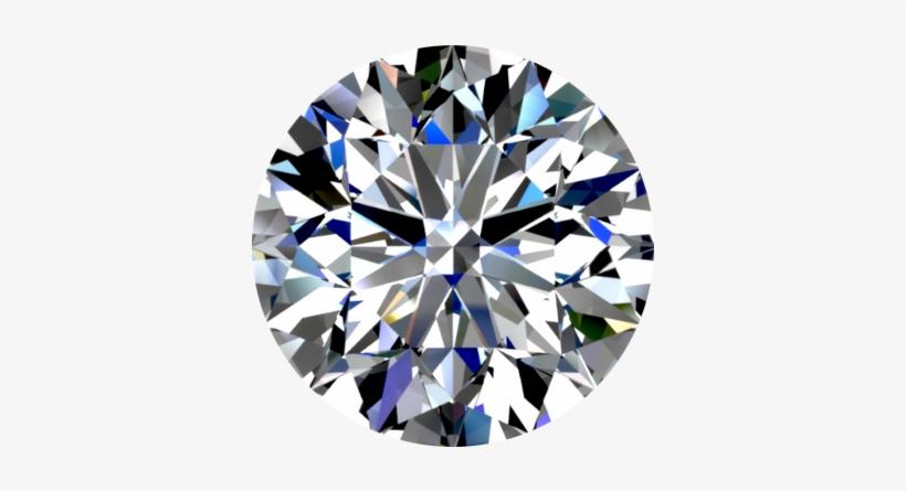 Round Diamond Shape - Round Shape Diamond Png, transparent png #22538