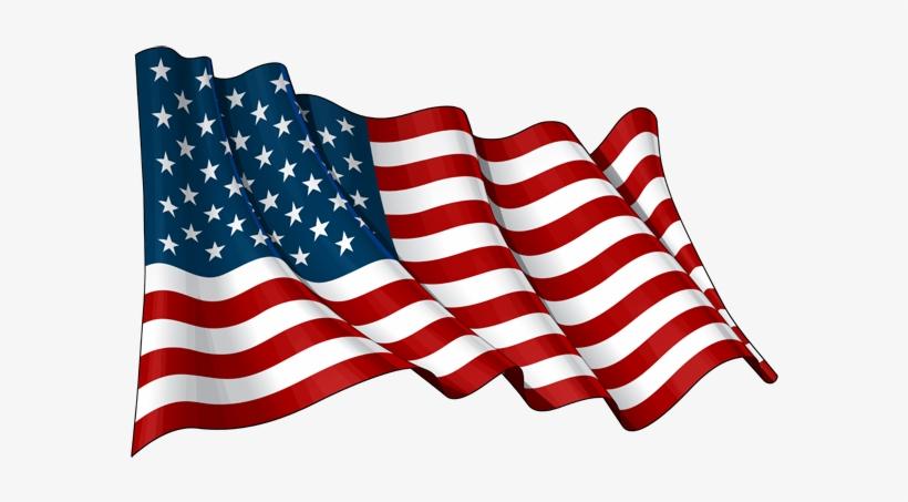 America Flag Png File - Waving American Flag, transparent png #22585