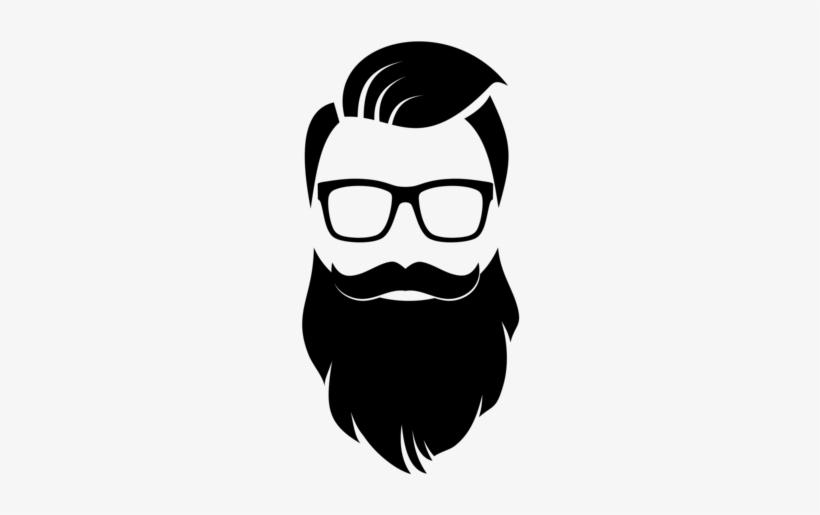 Beard simple. Cartoon png clipart library