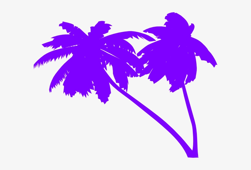 Palm Tree Vector - 80s Palm Tree Vector, transparent png #23270
