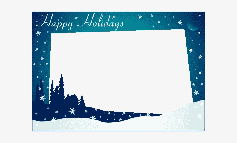Free Holiday Greeting Card Templates - Seasons Greetings Card Template, transparent png #23340