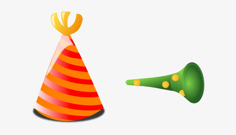 Happy Birthday Hat Png - Birthday Horn Png, transparent png #23549