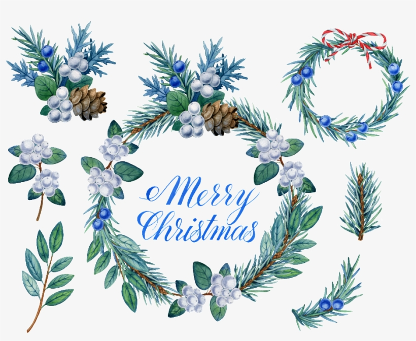 This Graphics Is Hand Painted Christmas Card Shading - Christmas Day, transparent png #24294