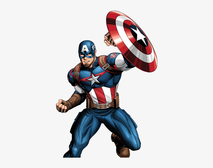 Captain America Cartoon Images: Picture Royalty Free Library Clipart Captain America