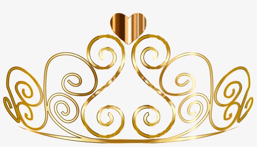 Tiara Clipart Golden Tiara ~ Frames ~ Illustrations - Gold Princess Crown Png, transparent png #25082