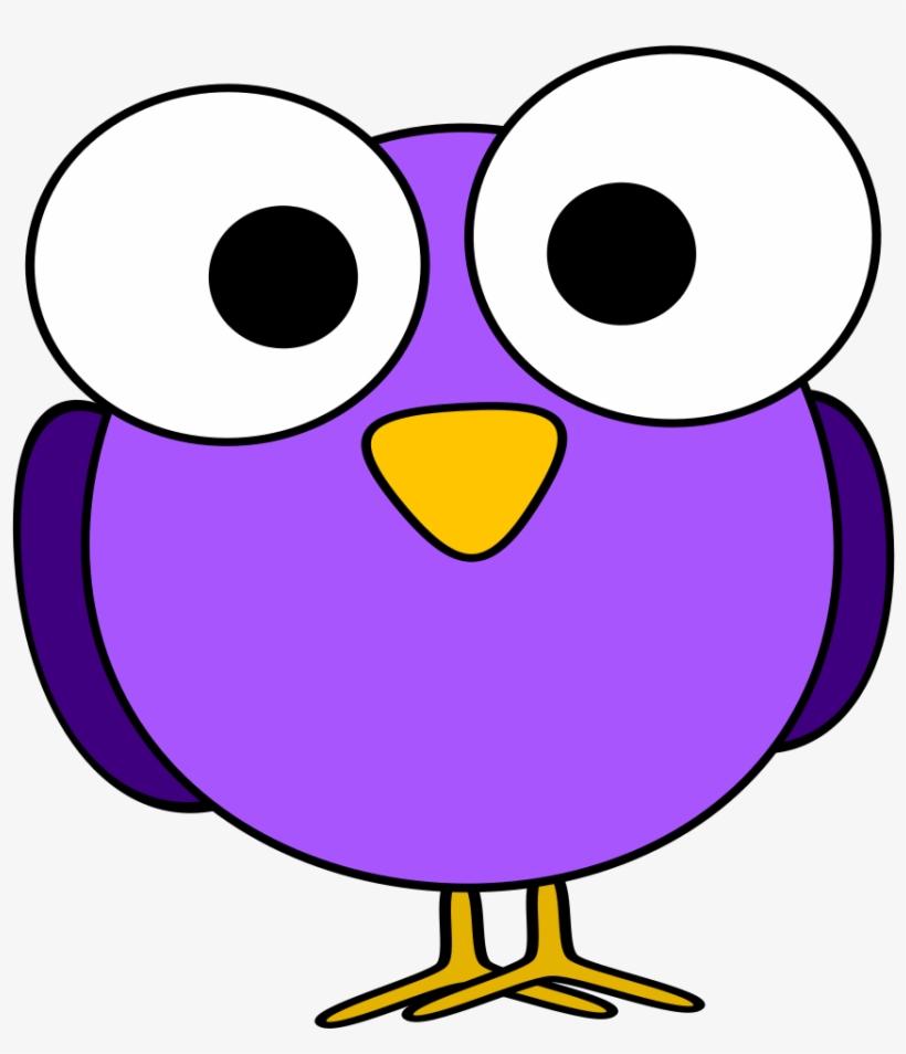 Bird Cartoon Googly Eyes Cuteness - Googly Eye Bird, transparent png #26330