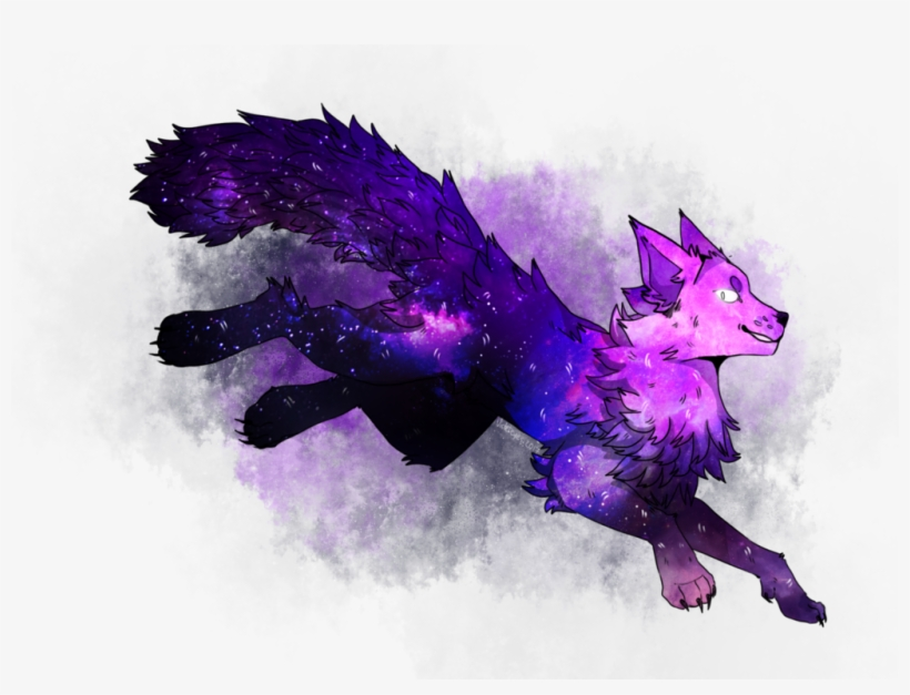 c1e77bb87 Galaxy Wolf By Violetdrawcat On Deviantart Picture - Galaxy Wolf Drawing