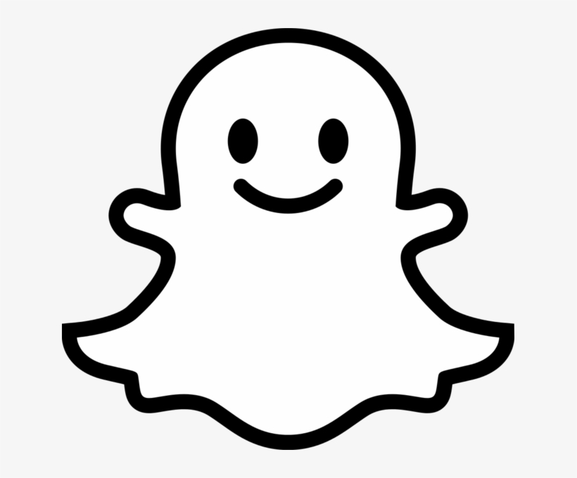 Snapchat Ghost Png Jpg Library Stock - Snapchat Ghost ...