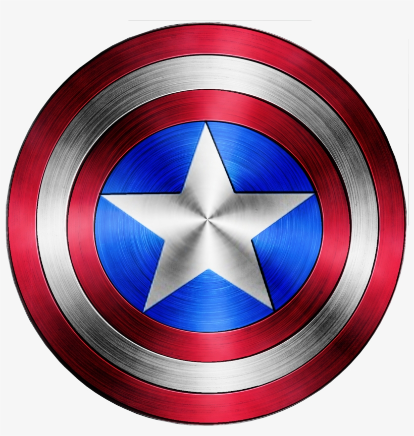 Captain America Shield Logo Png Royalty Free - Captain America Shield Jpg, transparent png #27402