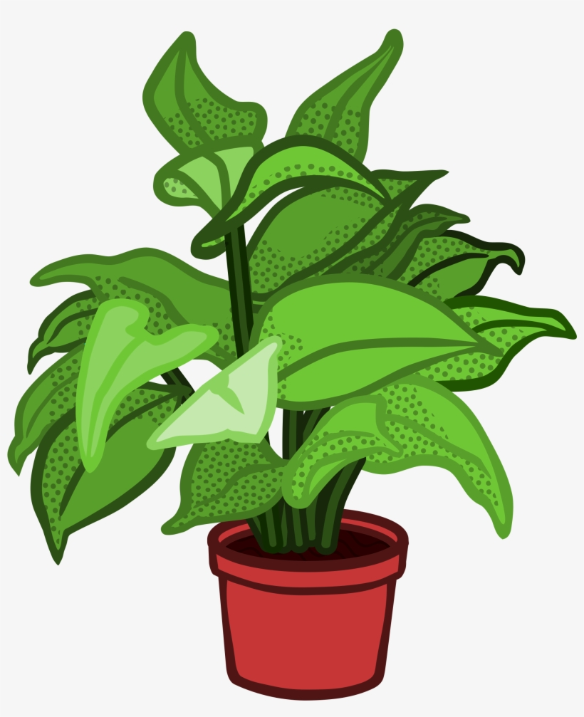 Image Free Stock Pot Plant Planted Flower Free On Dumielauxepices - Potted Plant Clipart Png, transparent png #27513