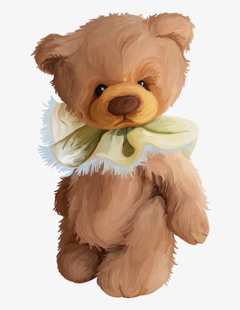 B *✿*dreams Of Paris - Stuffed Bear Baby Teddy Bear Drawing, transparent png #28524