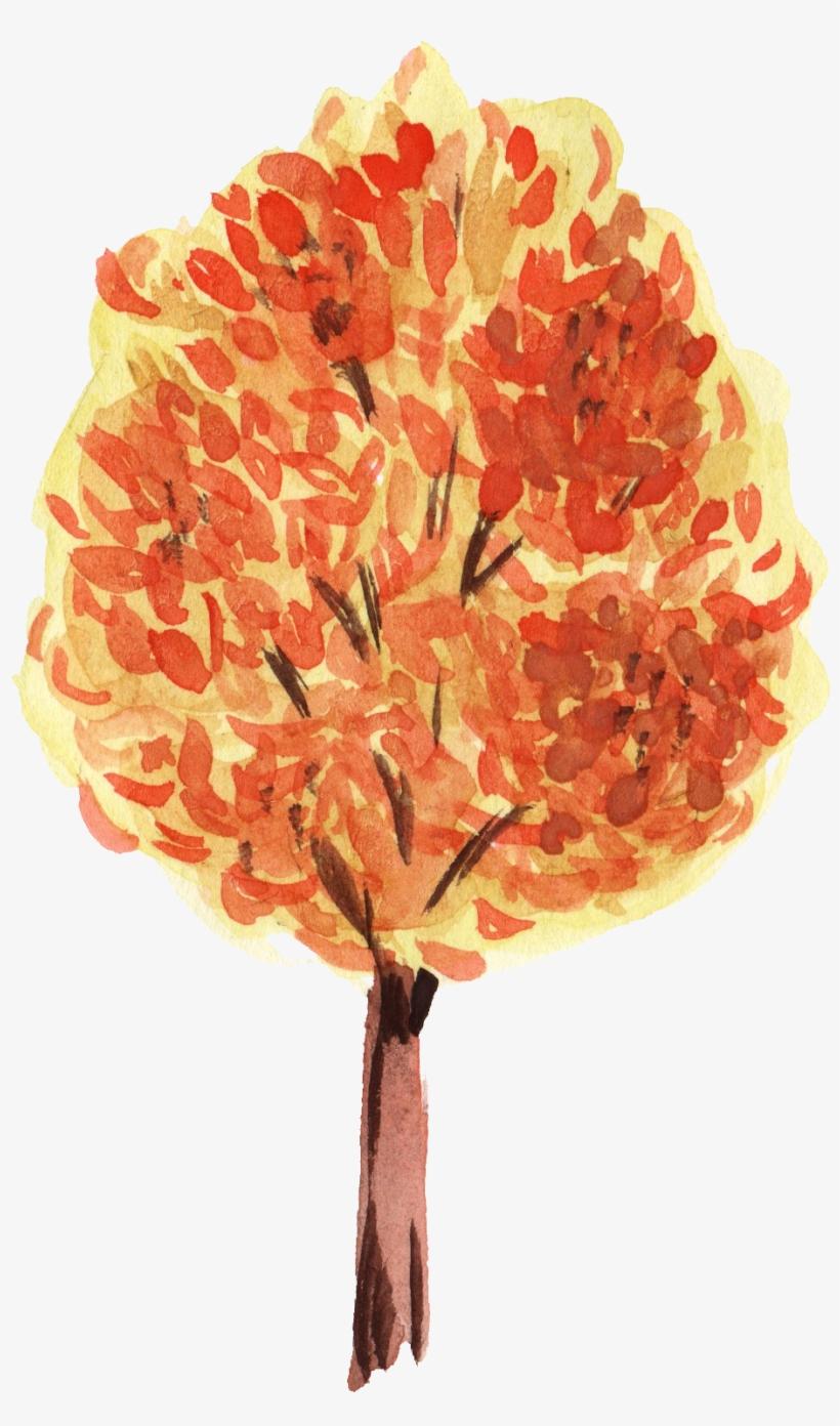 Free Download - Png Transparent Leaves Hd Watercolor Png, transparent png #28793
