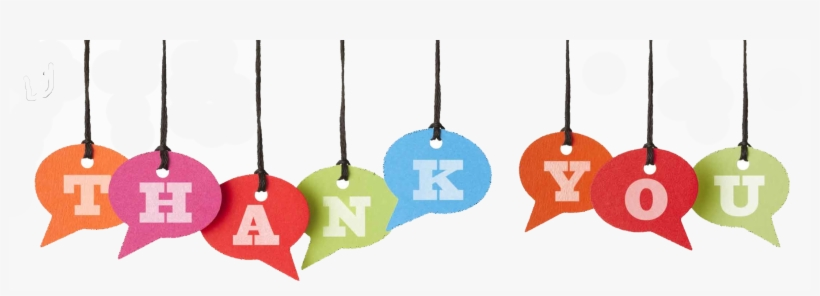 Thank You Chat Banner - Thank You Hanging Sign, transparent png #28842